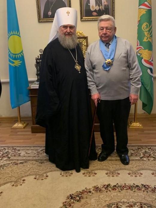 Награждение Петрова С.В.