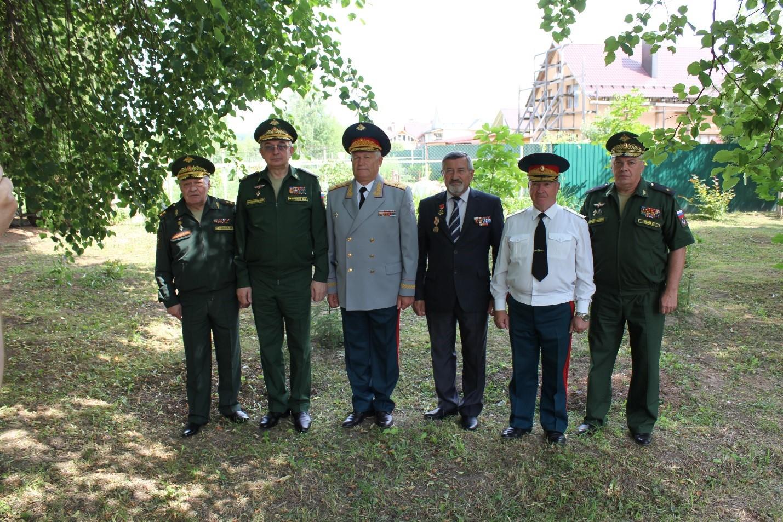 Митинг-реквием памяти героев огнемётчиков – защитников Москвы