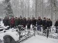 Ветераны у памятника Лебедеву Е.Я.