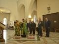 Торжественная литургия перед награждением